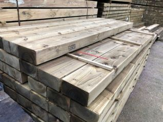 15 Year Guarantee Softwood Sleepers-SOLD OUT
